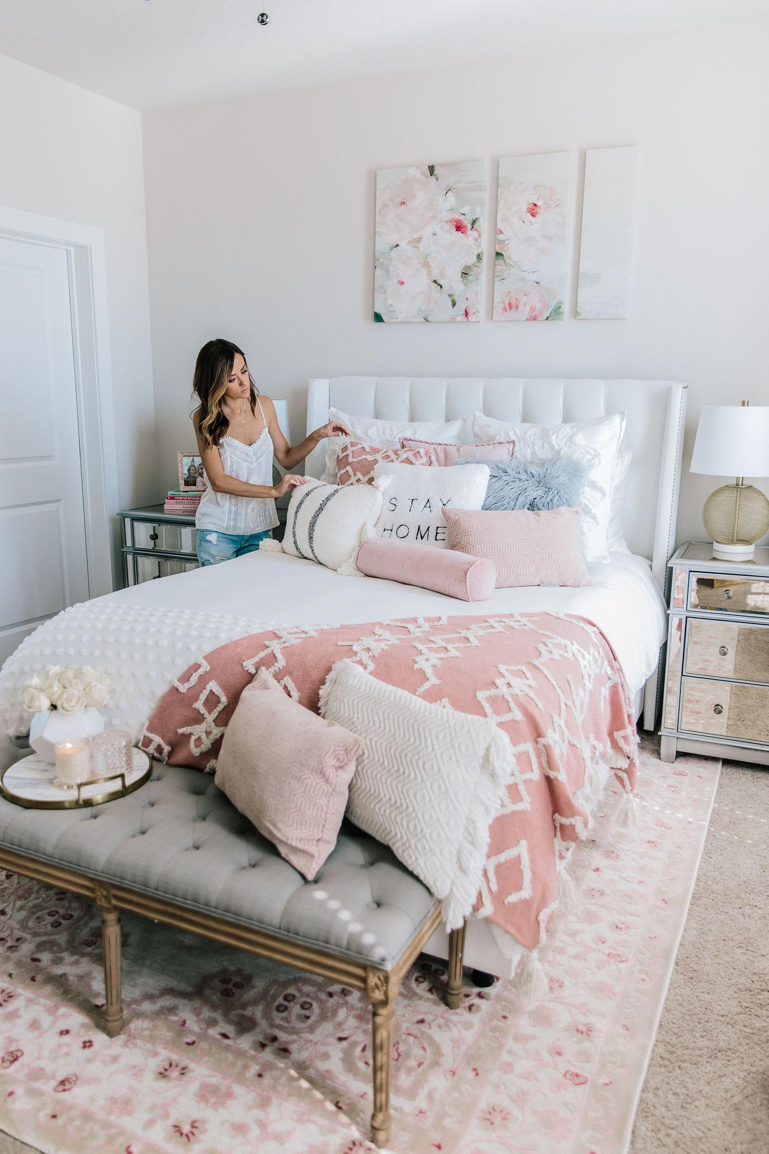 So many of my new bedroom items are under affordablehomedecor