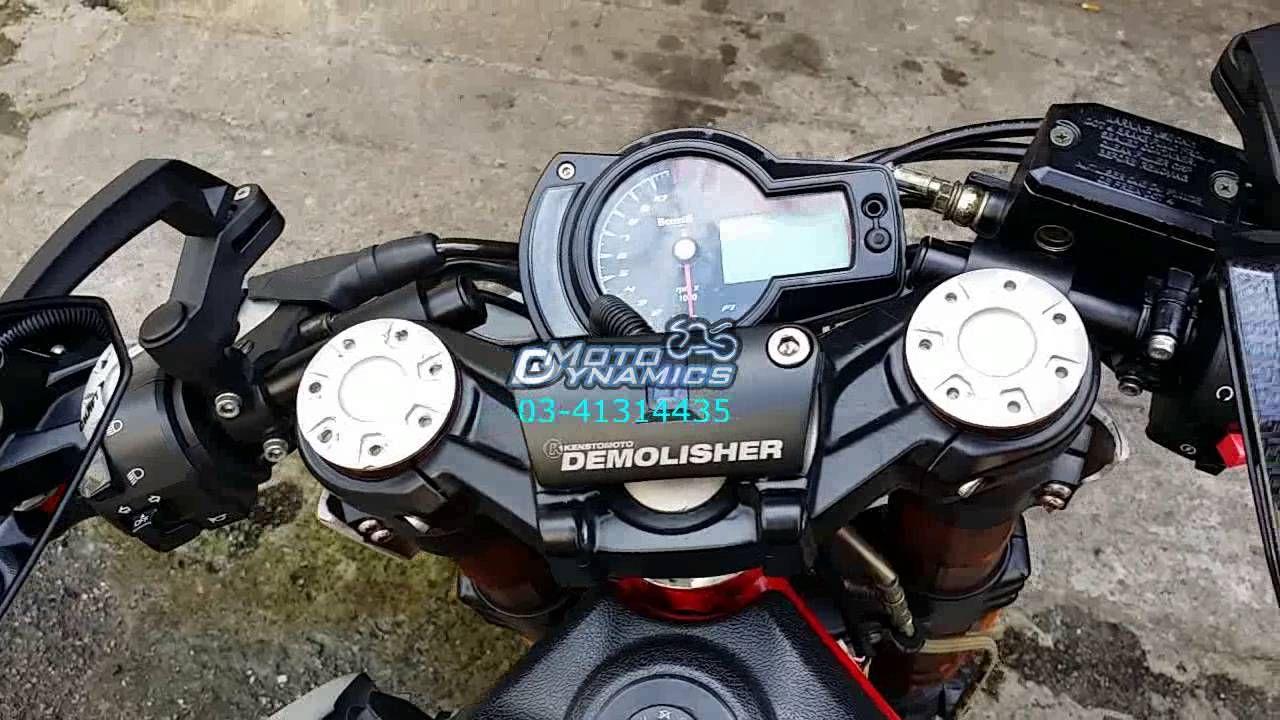 Pin em Kenstomoto Demolisher Benelli TNT600