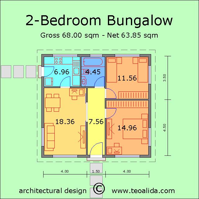 2 Bedroom Bungalow House Floor Plans Floor Plans Bungalow House Floor Plans