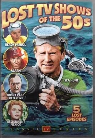 This Collection Of Clic Television Shows Includes Episodes From Sea Hunt 1958 Beach Patrol 1959 Alarm 1954 Front Page Detective 1951