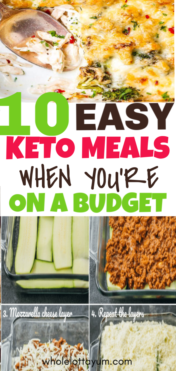 20 Best Cheap Keto Meals Low Carb Dinner Easy Keto Recipes Easy Ketogenic Diet Meal Plan