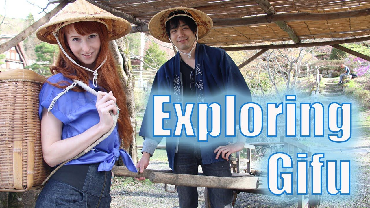Exploring Gifu with Rachel and Jun