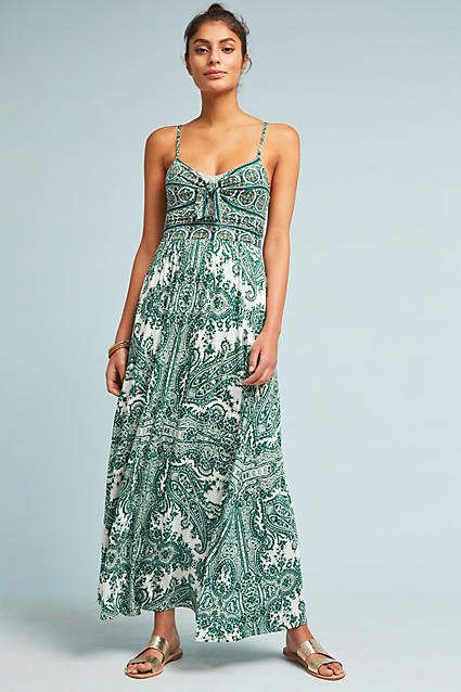 Moulinette Soeurs Brisbane Maxi Dress Ad Anthrofave