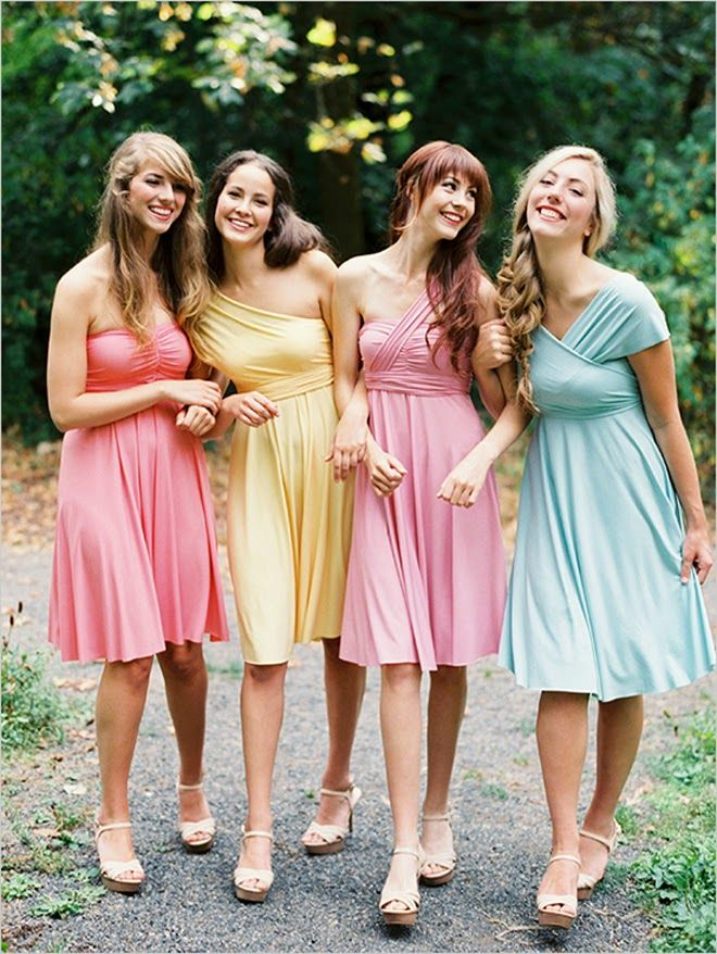 Top 4 Bands for Convertible Bridesmaid Dresses | Wedding, Wedding ...