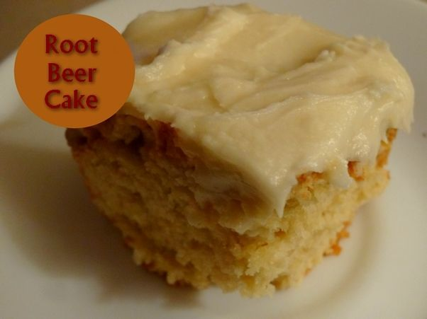 Root Beer   http://www.momspantrykitchen.com/root-beer-cake.html