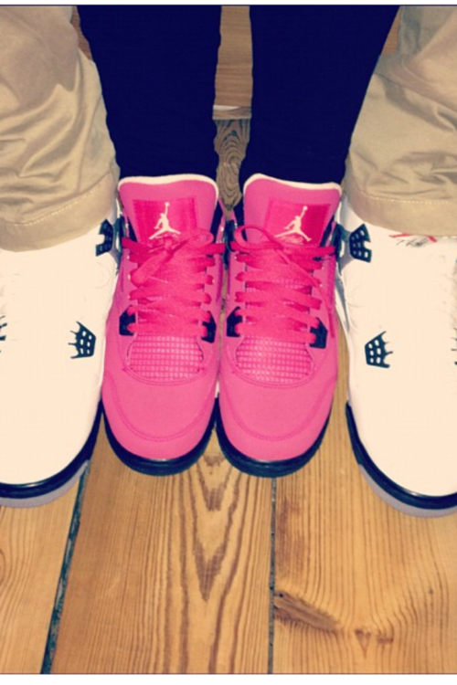 matching shoes cute couples | images of pink jordans cute couple matching  swag wallpaper