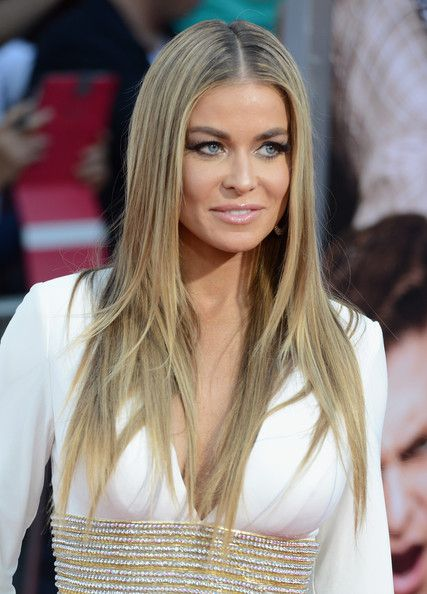 Carmen Electra Long Straight Cut - Long Straight Cut Lookbook - StyleBistro