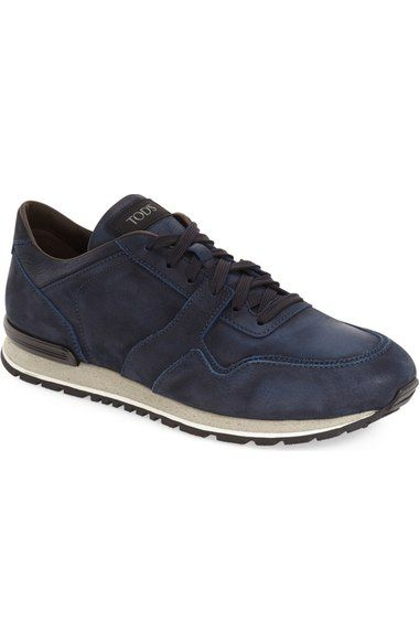 TOD'S Lace-Up Training Sneaker (Men). #tods #shoes #flats
