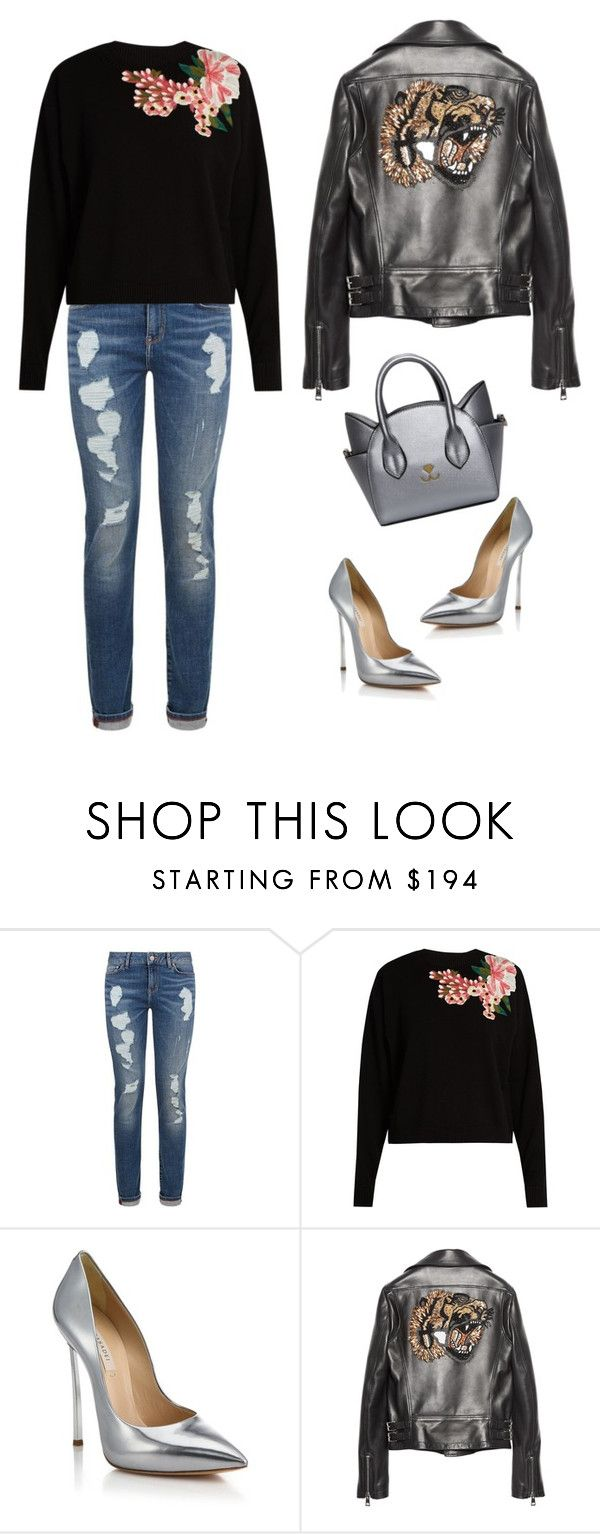"""""""Untitled #432"""" by cool-julija ❤ liked on Polyvore featuring Tommy Hilfiger, Dolce&Gabbana, Casadei and Gucci"""