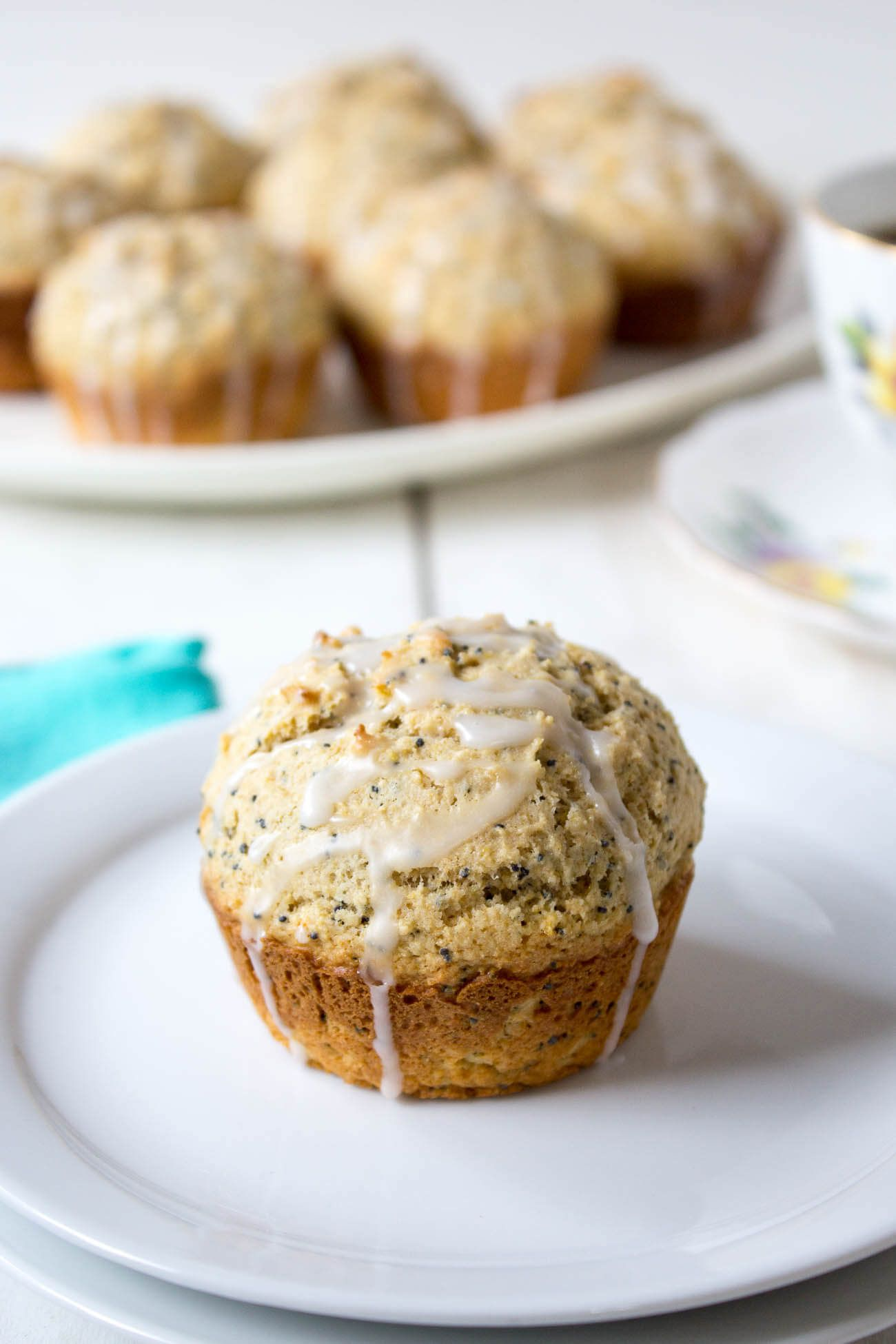 Whole Wheat Lemon Poppy SeedMuffins Recipe Lemon