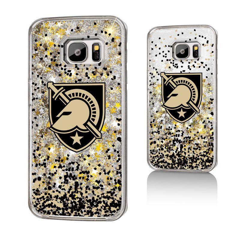 Army black knights team gold glitter galaxy s7 case