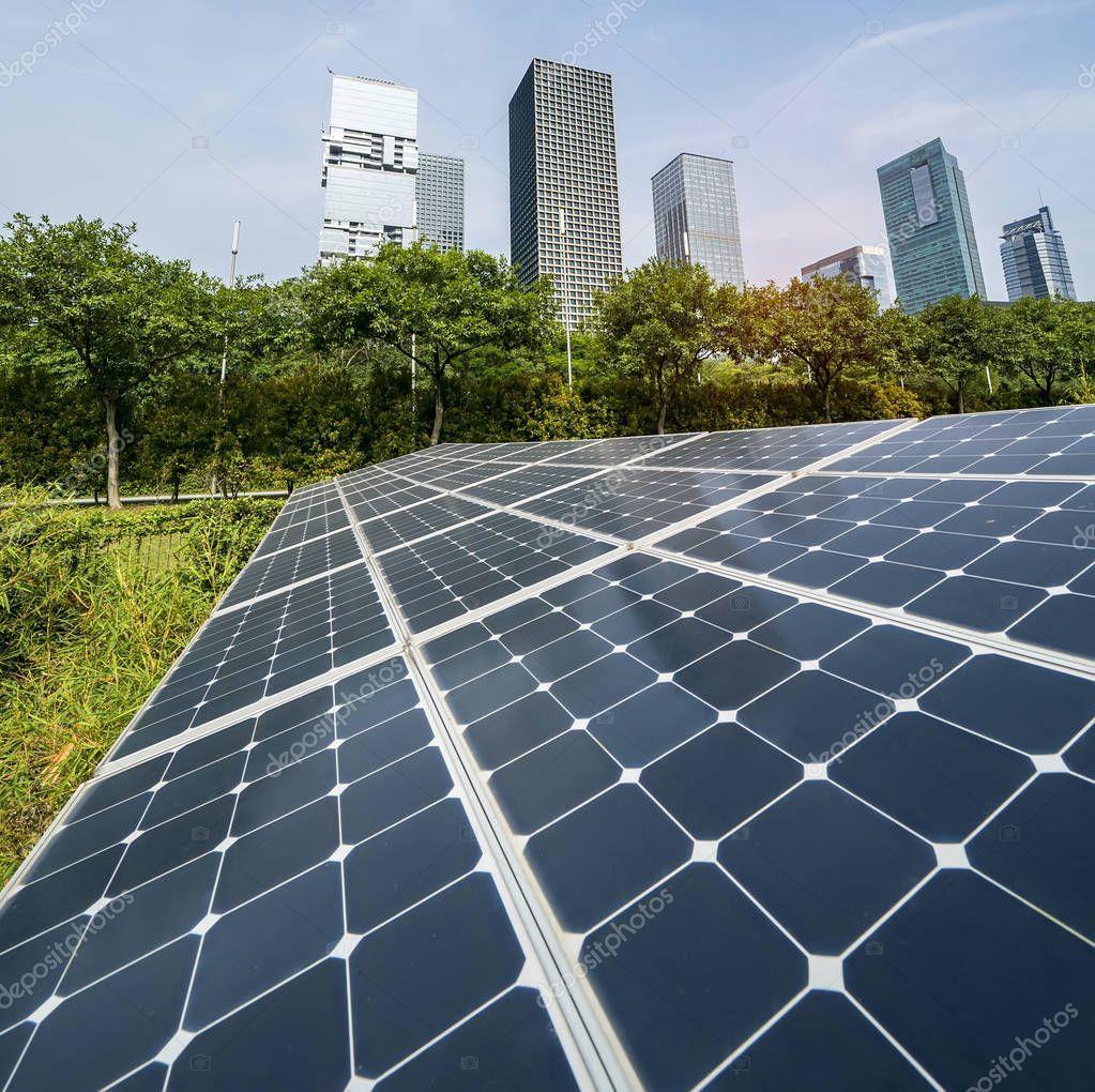 Ecological Energy Renewable Solar Panel Plant Urban Landscape Landmarks Affiliate Renewable Solar Ecological En Renewable Solar Solar Panels Solar