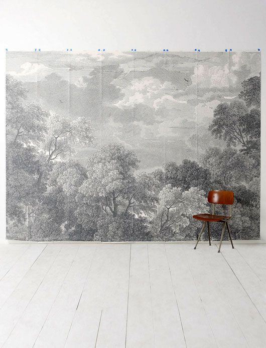 Shades Of Gray Home Wallpaper Mural Wallpaper Mural