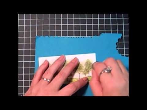 Stampin' Up! Tutorial-Create a Masculine Card using Sponge Daubers