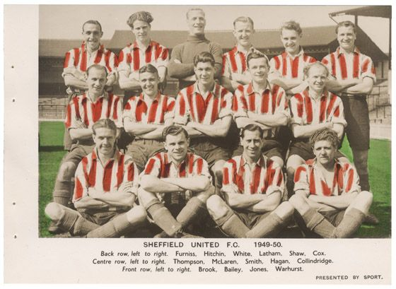 #SheffieldUnitedFC 1949-50