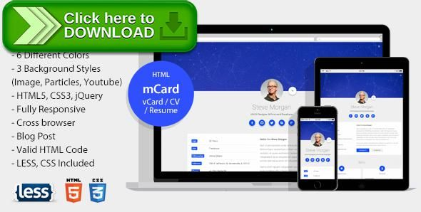 Free nulled mcard material vcard cv resume personal template mcard material vcard cv resume personal template by beshleyua fully responsive and easy for you to edit mcard with material design yelopaper Image collections