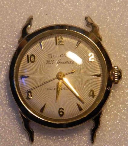 "Bulova 1954 Bulova 23 ""H"" watch"
