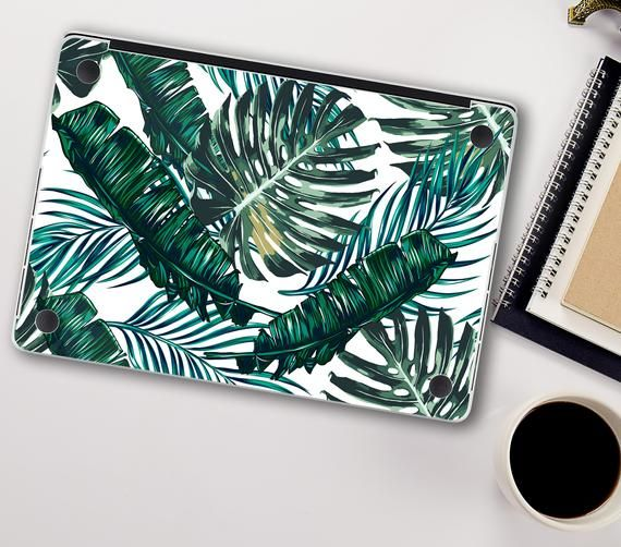 Palm Leaves Macbook Skin Macbook Air 13 Green Leaf MacBook | Etsy