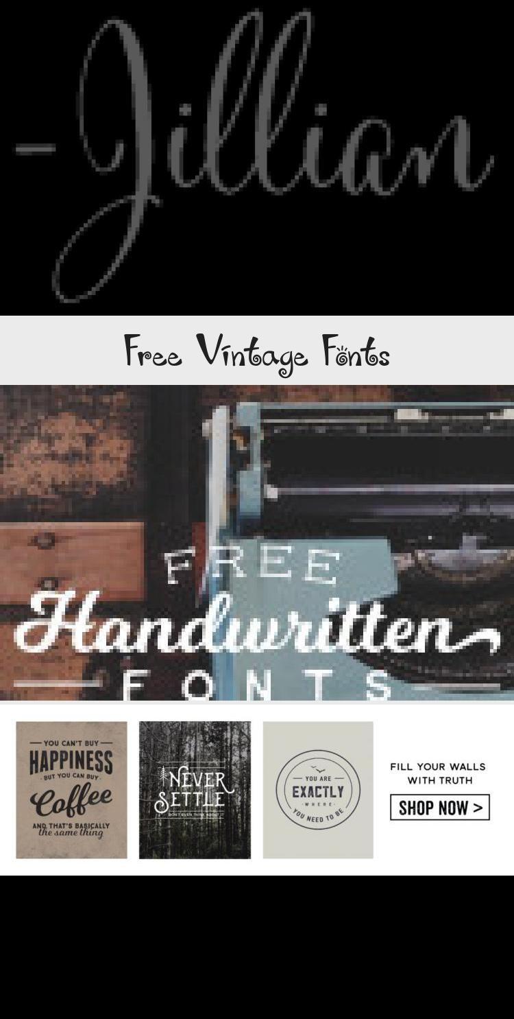 Free Vintage Fonts In 2020 Vintage Fonts Logo Design Typography Text Logo Design