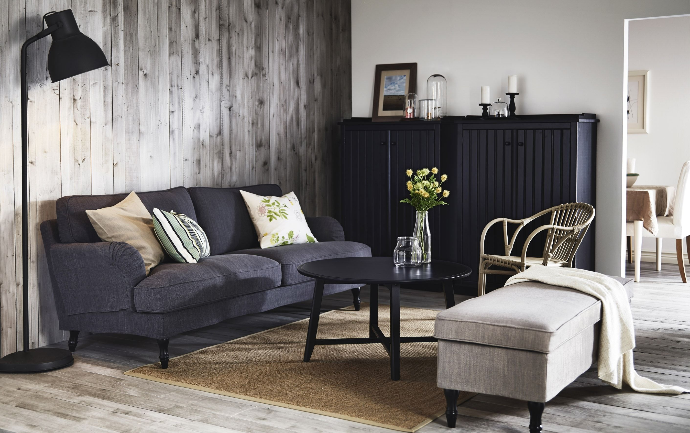 Canapé Places Stocksund IKEA Déco Salonsalle à Manger - Canapé 3 places pour deco salle a manger salon