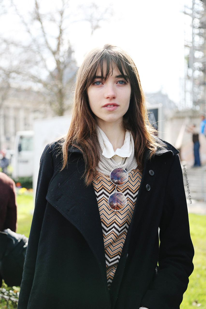 Grace Hartzel at Chanel FW 2014 Paris