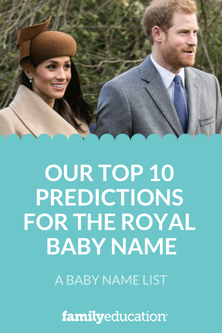 Our Top 10 Predictions For The Royal Baby Name   Baby Names