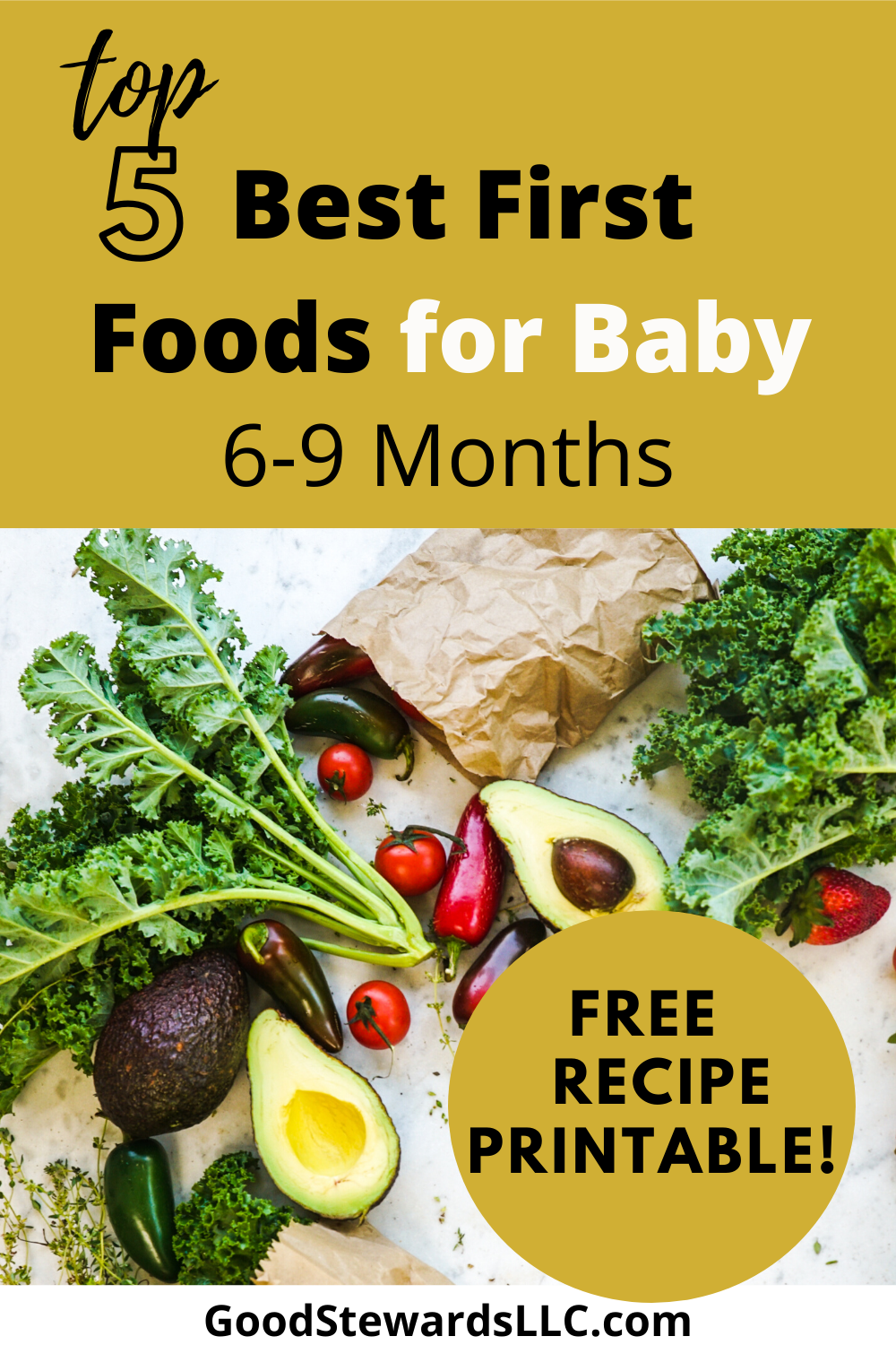 Step by step guide on how to make healthy, homemade baby food, with Free Printable baby food recipes! #homemadebabyfood #healthybabyfood #newmom #baby #babyfood #recipes #health #newmommy