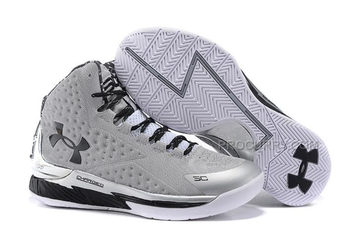 8ce35d5e53a ... reduced buy sale cheap under armour curry one grey black metallic  silver copuon code from reliable