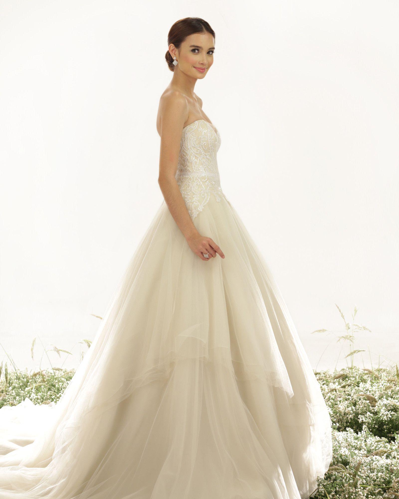 Simple and cheap wedding dresses  Alyssa  Veluz  Wedding Dresses   Pinterest  Products