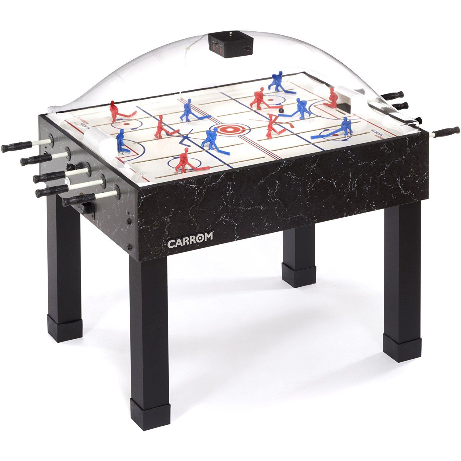 Amazon Com Carrom 415 Super Stick Hockey Table Dome Hockey Tables Sports Outdoors Game Room Hockey Air Hockey Table