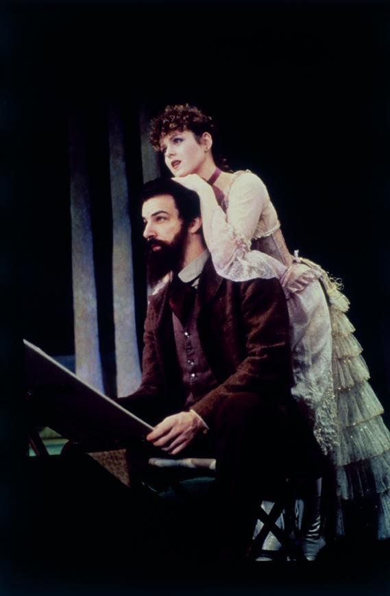 "Sunday in the Park with George -- one of Stephen Sondheim's greatest masterpieces. ""Stop worrying if your vision is new. Let others make that decision; they usually do. You keep moving on."""