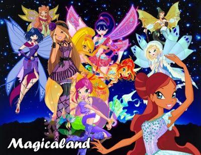 Imagen de la novelas Magicaland del blog Winx Club All: Novelas