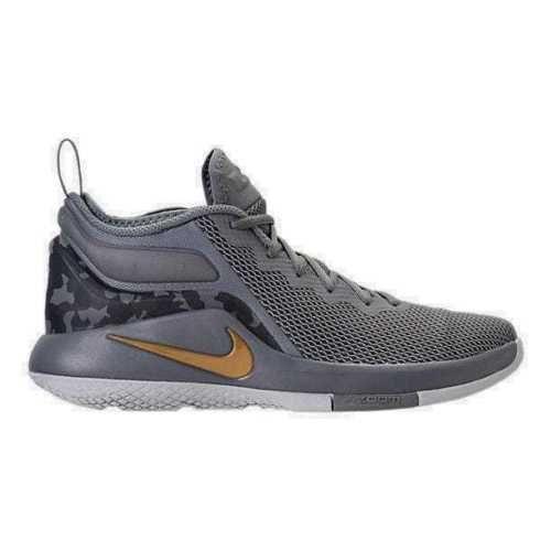 a336050e0f8 Nike LEBRON WITNESS II Mens Basketball Shoes Cool Grey Gold 942518 009  Nike   BasketballShoes