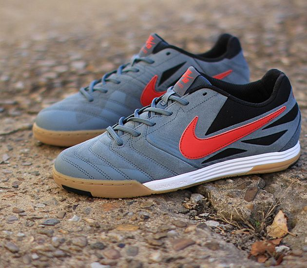 Nike SB Lunar Gato - Armory Slate / University Red - Black