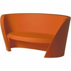 Photo of Slide Rap sofa dyed orange SlideSlide