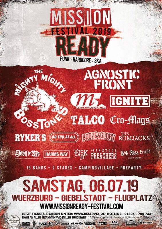 Mission Ready Festival 2019 Festival Punk Rock Festival European Festivals