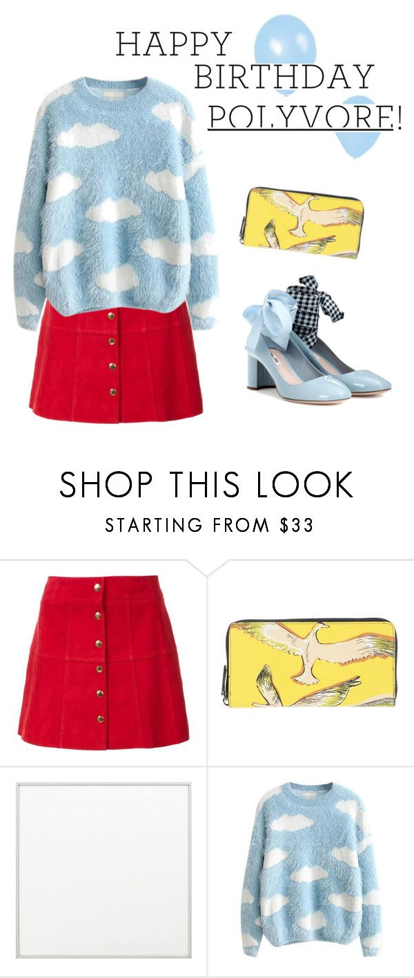 """""""happy birthday polyvore!"""" by janesmiley ❤ liked on Polyvore featuring Ines de la Fressange, Emilio Pucci, By Lassen, Miu Miu, polyversary and contestentry"""
