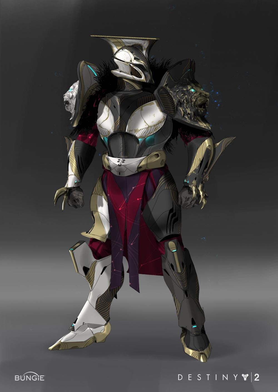 Artstation Destiny 2 Empyrean Cartographer Titan Armor Tyler Bartley Titan Armor Destiny Titan Armor Destiny Comic