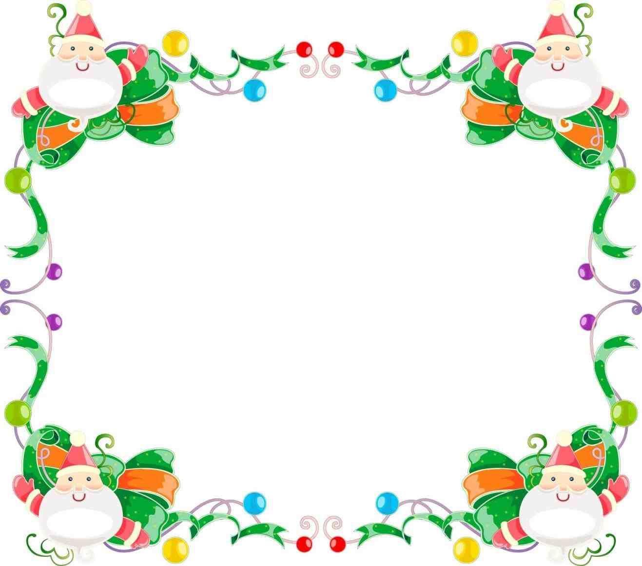New Post Christmas Gifts Border Clip Art Free