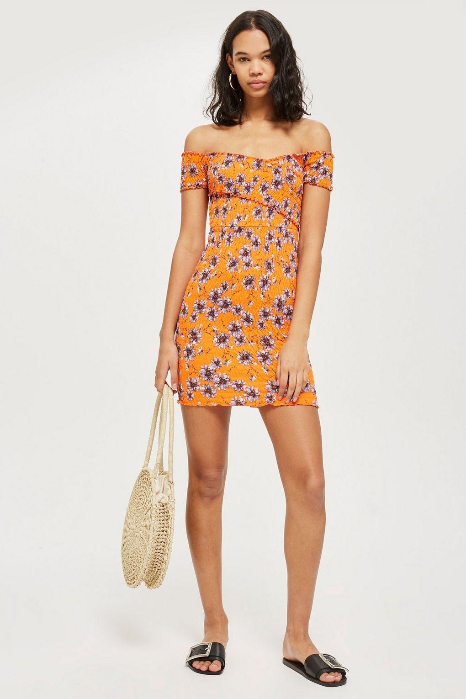 89f0cb587de6 Shirred Wrap Bodycon Dress | desirable | Dresses, Fashion, Bodycon Dress
