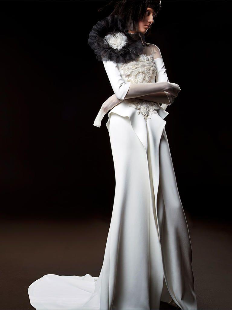 Vera Wang Black Wedding Dresses 2018