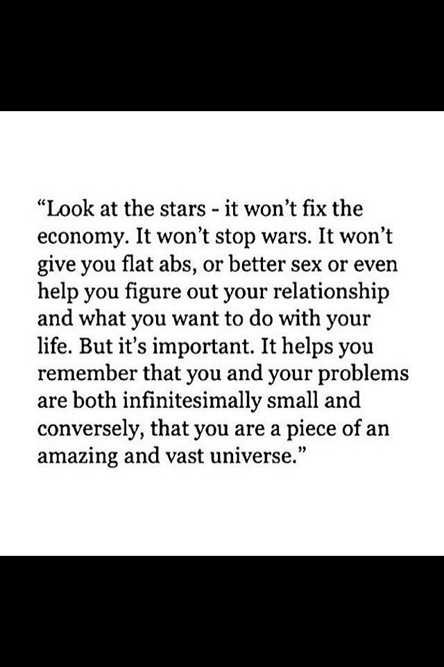 Look at the stars ⭐️