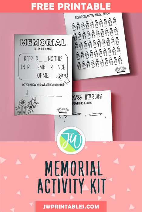 Kids Memorial Activity Kit | Free Jehovah's Witness