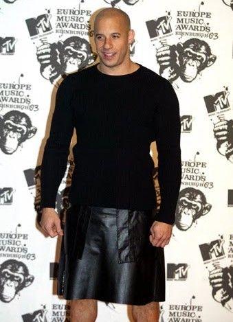 Vin Diesel in kilt :) | Men in Kilts | Pinterest | Best Kilts ideas