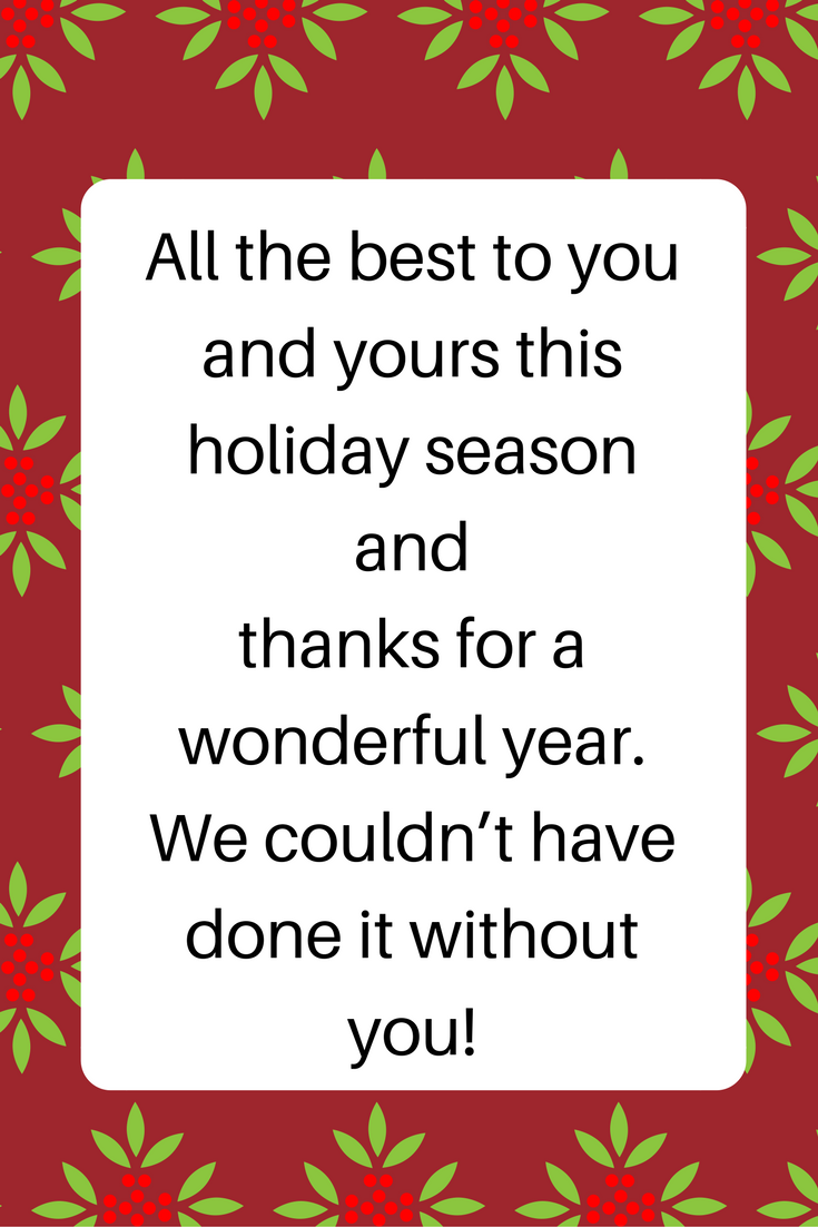 Politically Correct Holiday Greetings Examples