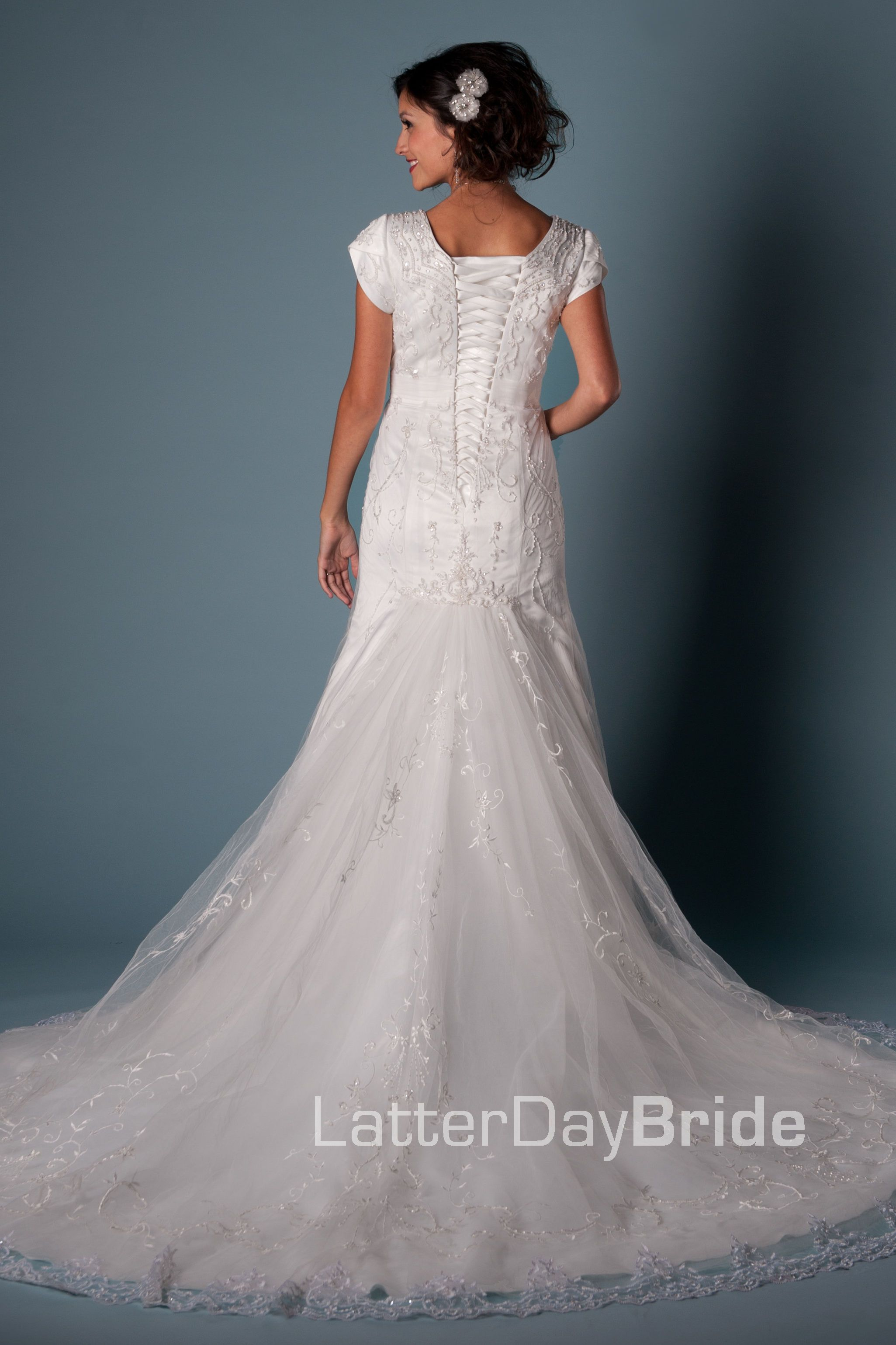 Wedding dresses spokane  Modest Wedding Dress Maxwell  LatterDayBride u Prom Modest Mormon