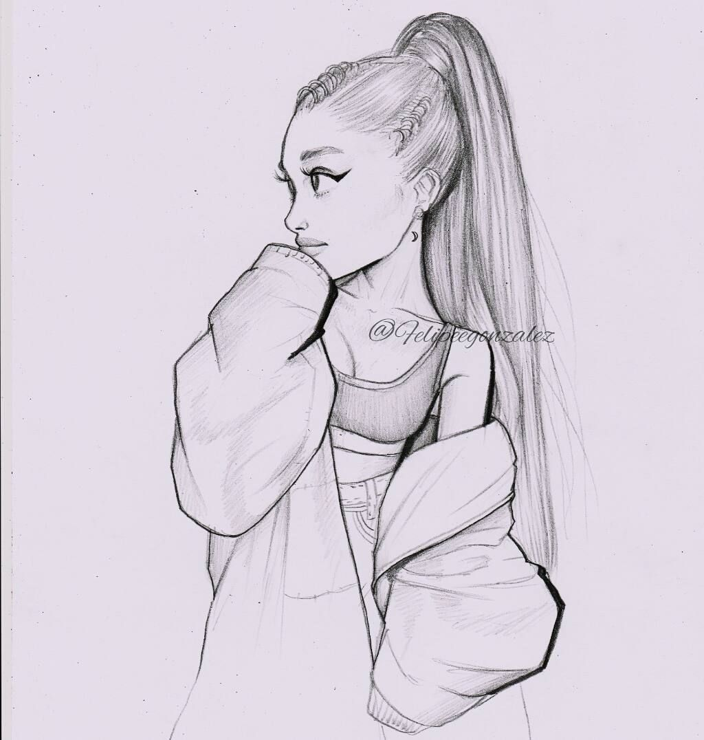 Ari Drawing In 2019 Drawings Art Sketches Ariana