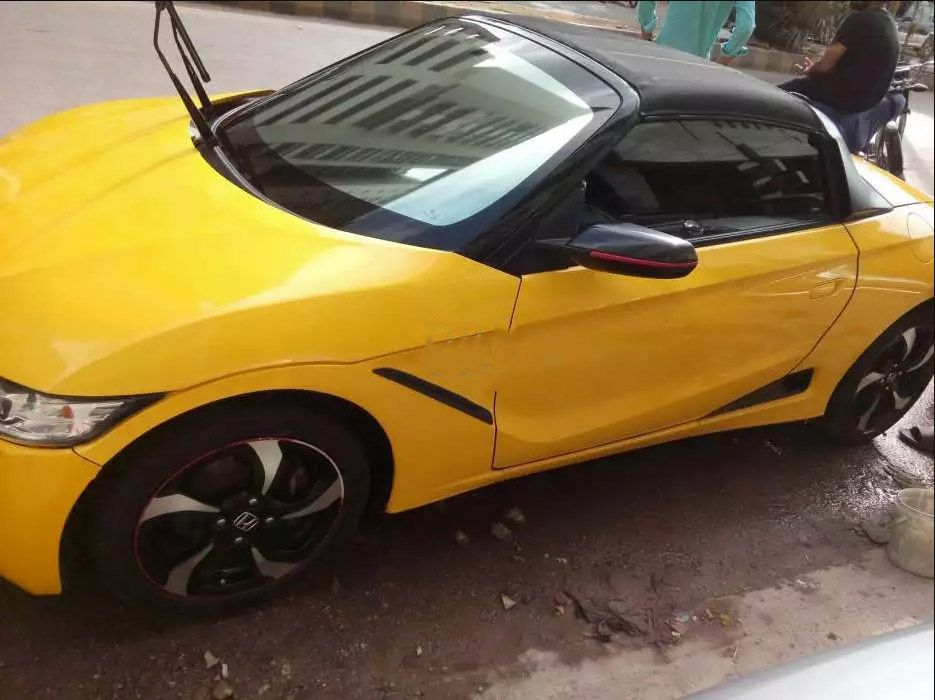 Yellow Honda Sports Car For Sale In Karachi Buy Now Best Used