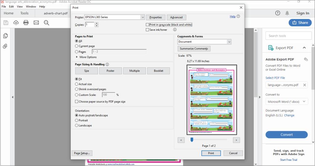 How To Print A Worksheet Printing Help Printing Help Worksheets Print