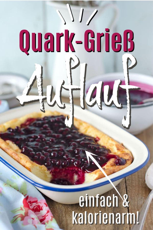 Ganz einfach & lecker: Quark-Grieß-Auflauf